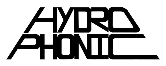 Hydrophonic Banner Logo