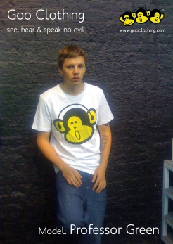 Goo Clothing Professor Green