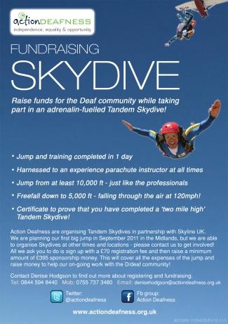 Skydive promotion