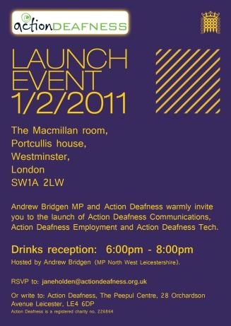 Westminster Employment event