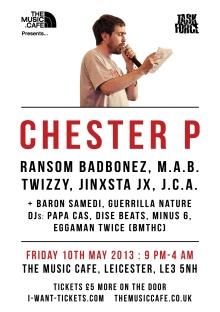 Chester P new